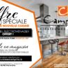 Offre Spéciale sur votre nouvelle cuisine chez les Cuisines Campillo !